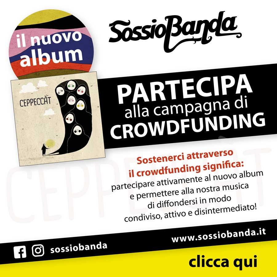 Crowdfunding Sossio Banda 2018