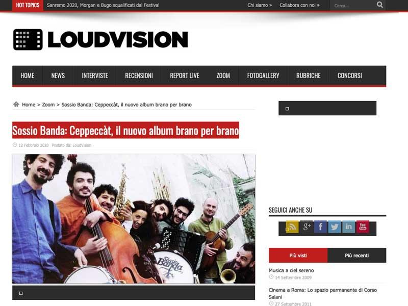 LOUDVISION: Ceppeccàt, il nuovo album brano per brano