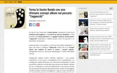 """MESCALINA: Torna la Sossio Banda con uno sfrenato concept album sul peccato: """"Ceppeccàt"""""""