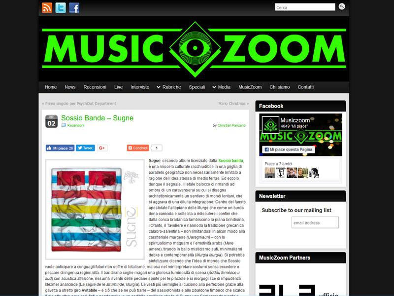 MUSICZOOM: Recensione Sugne